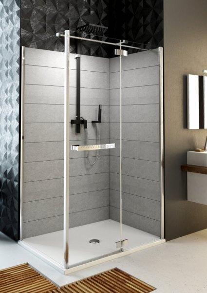 Душевая дверь для монтажа со стенкой Aquaform HD Collection 100R (103-09375) 5880