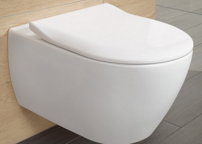 Унитаз подвесной Villeroy&Boch Subway 2.0 5614R2 01 SoftClose 127993