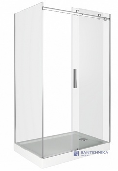 Душевой угол Good Door Galaxy WTW+SP 110x80 - фото2