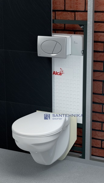 Инсталляционная система Alcaplast A101/1200 M71 Set 6055