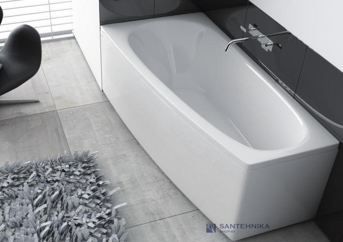 Ванна акриловая угловая + ф/п-ль Aquaform Simi 150x80 (241-05151) левая 126469