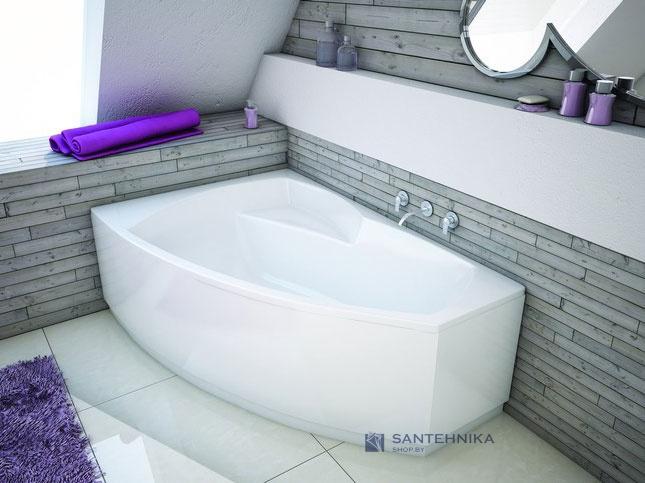 Ванна акриловая угловая + ф/п-ль Aquaform Senso 170x115 (241-05193) левая 126457